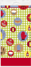 Luau Summer Barbeque Party Plastic Tablecover